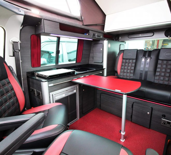 VW transporter conversion